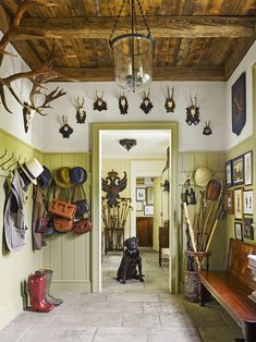 A Hudson Valley Home Tour & Inside a Neoclassical New York Home A Hudson Valley Home Tour & Inside a Neoclassical New York Home The post A Hudson Valley Home Tour & Inside a Neoclassical New York Home appeared first on Home. New York Homes, New Homes, Greek Revival Home, Barn Siding, Green Rooms, Entry Hall, The Ranch, Mudroom, House Tours