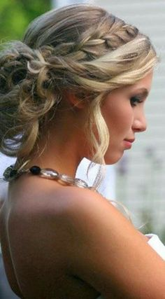 More Fabulous Pins: Wedding Hair: Braids and Updos