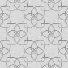 Muriva Precious Silks Silver Geometric Metallic Wallpaper   Departments   DIY at B&Q