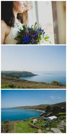 Polhawn Fort Wedding, Rame Head, Cornwall
