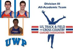 Three UW-Platteville Pioneers Named to the 2012 USTFCCCA Men's Division III All-Academic Track & Field team.