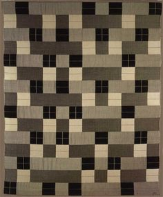 Black-White-Gray by Anni Albers 1964; reproduction of a 1927 original.  Cotton and Silk. Berlin.