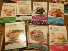 Glutino's Baking Mixes Review and Gluten & Egg Free Pancakes!