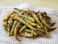 Panko Crispy Green Bean Fries. Just Give Veggies Luv!