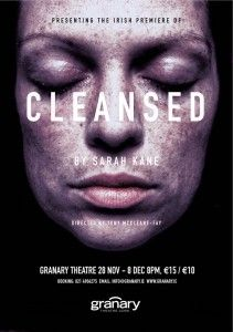 """Follow the link attached to this image and read my review of Sarah Kane's """"Cleansed"""".  Be sure to 'like', share and leave a comment."""