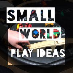 small world play — Our Sensory Kids Sensory Kids, Sensory Garden, Small World Play, Play Ideas, Activity Ideas, Activities, Sensory Bins, Game Ideas