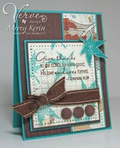 another WONDERFUL card layout. it flows so well together. I'd like to CASE it.... change a few things, such as remove the brads, or just use smaller ones? very cute!
