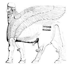 Shedu mythical creature: Myth Beasts