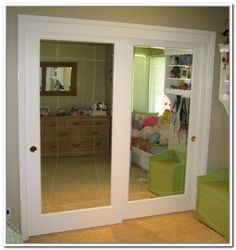 How To Install Mirror Closet Doors