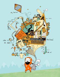 Map - Tom Jackson Illustration
