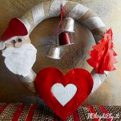 Ghirlanda di Natale fai da te
