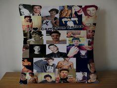 cameron dallas magcon boys collage pillow case size 20x20 inches two side