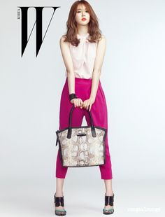 Yoon Eun Hye for W