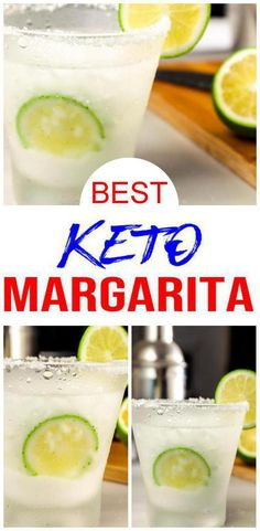 Keto Margarita - BEST Low Carb Margarita Recipe - EASY Ketogenic Diet Alcohol Drink Mix You Will Love - Check out this keto margarita drink recipe! EASY DIY keto tequila alcoholic drink recipe u can make - Low Carb Cocktails, Keto Diet Drinks, Keto Drink, Healthy Drinks, Healthy Food, Kiwi Smoothie, Healthy Smoothie, Smoothies, Alcoholic Drink Recipes