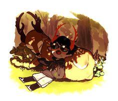 tlsdlrhdwh:  new troll with a deer