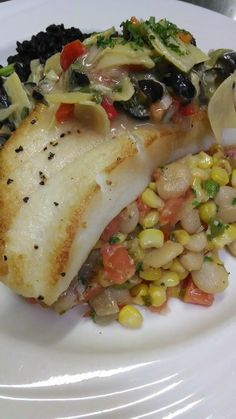 Mouthwatering Sea bass special!