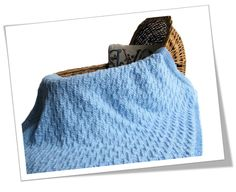 Impeccable Knits--Luise O'Neill--Tamsen Blue Baby Blanket