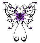 Purple butterfly for my dear sweet mother who lost her battle with lupus 3 years ago :( love you mom!!!