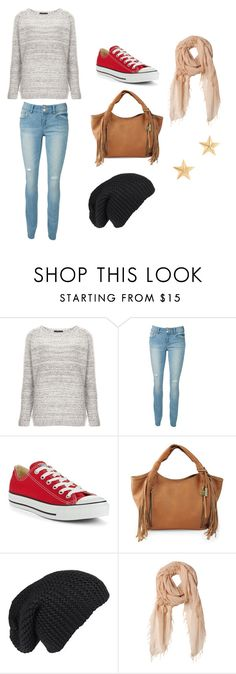 """""""Warm"""" by olivia-avery ❤ liked on Polyvore featuring Topshop, Converse, Lucky Brand, Rebecca Taylor and J.Crew"""