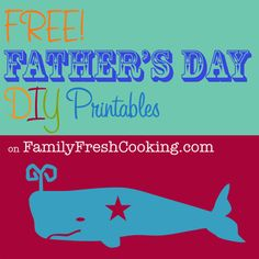 """*FREEBIE* Father's Day Printable Cards"" from @Marla Meridith"