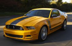 2013 Mustang Boss 302 - just wish I could afford it!