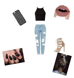 """""""Boyfriend"""" by rudycastaneda-rc on Polyvore featuring Topshop and Charlotte Russe"""