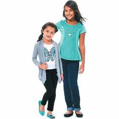 Girls 4-16 Tops and Jeans