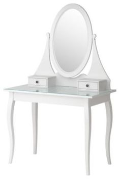 Kids Design,--hemnes dressing table with mirror $249