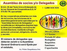 ELECCIONES DE DELEGADOS 2016 COOPERATIVAS