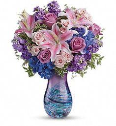 Teleflora's Opulent Artistry Bouquet in Depew NY, Elaine's Flower Shoppe