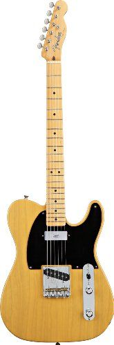 :Fender Vintage Hot Rod '52 Tele® Electric Guitar, Butterscotch Blonde, Maple Fretboard