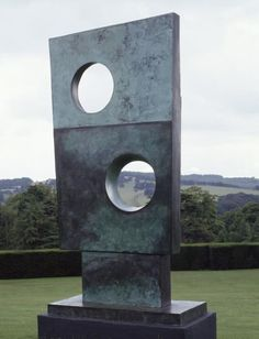 Barbara Hepworth's Sculpture Squares with Two Circles