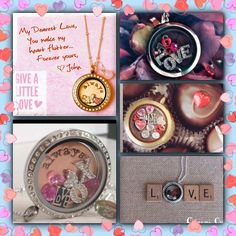 Valentine's Day lockets: buy 4 charms, get 1 free! 10% off orders of $45 or more! Gift certificates available with same discounts! :) Comment/message me for details! :)