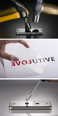 """Never crack your screen again. The Rhino Shield will make your phone """"impact resistant""""."""