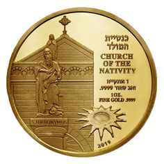 Jacob/'s Jacob/'s Dream Biblical Smallest Gold coin 9999 The Holy Land Mint