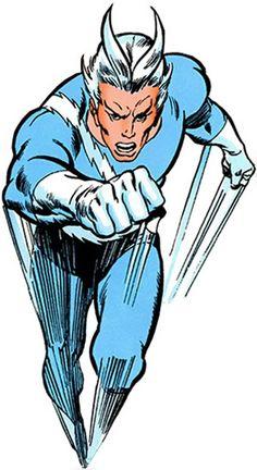 Quicksilver - Marvel Comics - Avengers / X-Factor Marvel Comics Superheroes, Marvel E Dc, Marvel Heroes, Dc Comics, Marvel Comic Character, Comic Book Characters, Marvel Characters, Quicksilver Marvel, Manga Anime