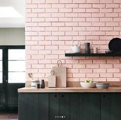 These Brick Backsplash Ideas Make the Case for a Rustic Kitchen Makeover