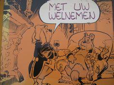 De heer Olivier.B.Bommel door Marten Toonder