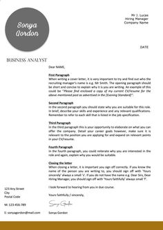 Professional Letterhead Templates Letterhead Template  Business  Cover Letter  Instant Download .