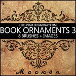 Book Ornaments Brushes 3 by ~Leichnam on deviantART
