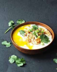 Rice porridge (or congee) for us is the ultimate comfort food. It brings back nostalgic memories of when we were kids and our parents would make us some warm rice porridge for breakfast or whenever…