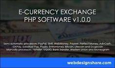 E-CURRENCY EXCHANGE v1.0.0 #PHP Script