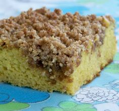 The Spunky Coconut: Grain-free Coffee Cake gluten-free, casein-free, sugar-free