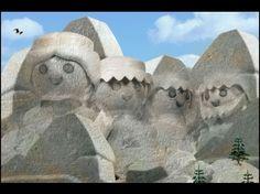 Richard Unglik Playmobil / le Mont Rushmore