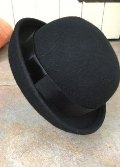 Buy here at #vinteduk http://www.vinted.co.uk/womens-accessories/hats/5198177-black-bowler-hat-rarely-worn