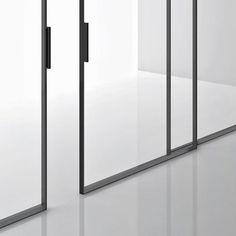 Green, by Piero Lissoni, for Boffi sliding doors  so oder so ähnlich auch bei www.okifree-raumsysteme.de erhältlich