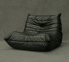 Ligne roset Togo leather chair