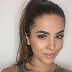 Makeup and hair super cute