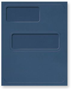 Premium Tax Return Folder with Pocket and Windows.