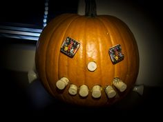 CoServ 2012 Pumpkin Carving Contest Entry (Cork Smile)